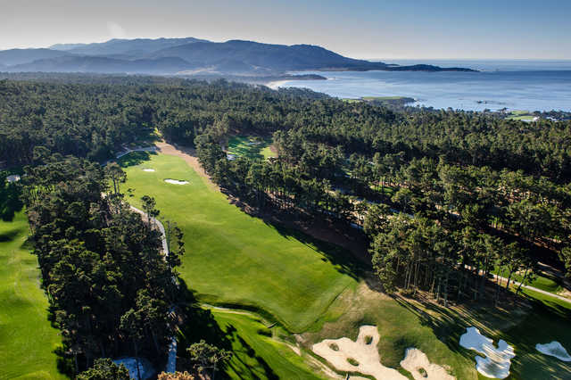Poppy Hills Golf Course In Pebble Beach