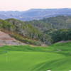 A view of the 9th green at Tehama Golf Club