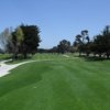 A view from a tee at Monterey Pines Golf Course