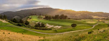 A view from Tehama Golf Club.
